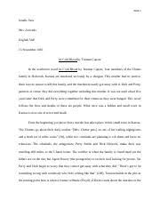 in cold blood documents course hero in cold blood essay book review
