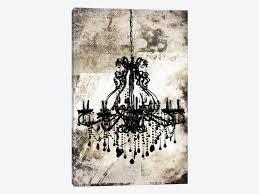 breathtaking chandelier canvas art kirklands chandelier canvas black