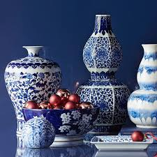 Decorative Jars And Vases Blue White Ginger Jar Imperial Vase Williams Sonoma 25