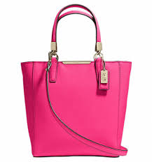 Coach Madison Mini North South Bonded in Saffiano Leather - Pink Ruby  29001, 790,