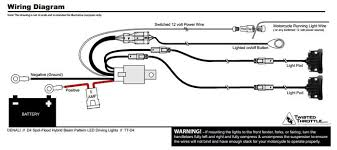 denali d4 vs dr1 review webbikeworld the included wiring harness for the d4 and dr1 lights is relatively simple