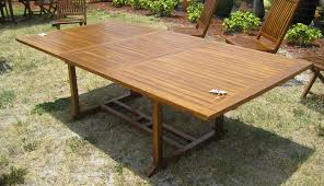 image of large folding outdoor dining table