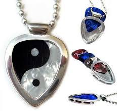 pickbay guitar pick holder necklace