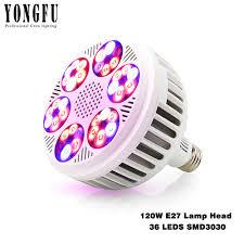 36 Inch Aquarium Light Bulb E27 Growing Lamp 120w Full Spectrum Led Grow Light Phyto Led