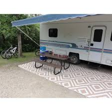 launching outdoor rv rugs for camping rug designs