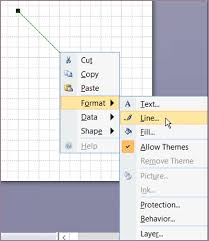 We will see how to change this later. Draw A Line Visio