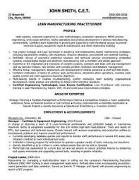 Production Engineer Sample Resume 19 Format For ...