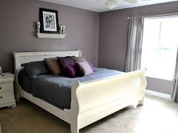 overhead bedroom furniture. Love White Distressed Sleigh Bed And Simple Overhead Decor On Grey Bedroom Furniture N