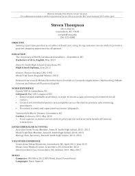 High School Diploma Resume. Resume Ontario High School Diploma ...