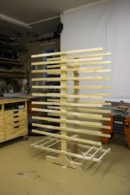 Cabinet Door Drying Rack | Woodworking, Woodworking jigs and ...