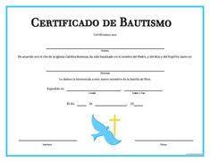 Certificado De Bautismo Template Certificados De Bautismo Para Imprimir Gratis Magdalene