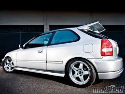 honda civic hatchback modified. modp 1011 02 o 1998 honda civic rays engineering wheels hatchback modified