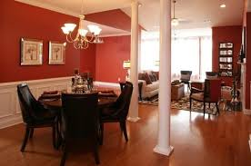 dining room red paint ideas. Determine The Best Paint Colors For Dining Rooms » Red Brown Combination Color Room Ideas N
