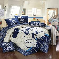 black and white mickey mouse king size bedding designs