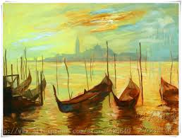 canvas painting venice landscape oil painting wall art wall pictures for living room home decor quadros caudros decoracion 01usd 109 00 219 00 piece