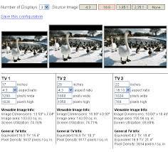 Tvcalculator Tv Screen Size Comparison Tool