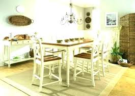 round dining table design ideas your own danish modern jute rug under kitchen in room