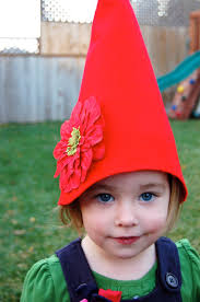how to make a no sew gnome hat