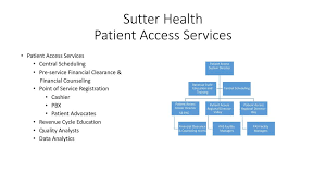 Becky Peters System Director Patient Access Services Sutter