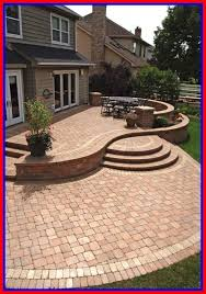 incredible best stone patio designs ideas grilling and backyard image of raised inspiration pond popular raised patio landscaping a52 patio