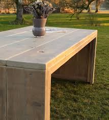 garden dining table with benches. reclaimed wood garden dining set. rustic table \u0026 backless benches, priced from. with benches