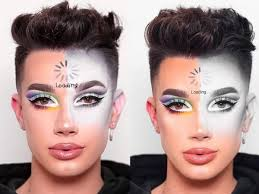 Liberally and alllll over his face. James Charles All The Youtube Beauty Star S Controversies