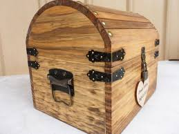 best ready to ship bus days wedding card box rustic wood treasure chest with card slot and lockkey set all inclusive with woood lock