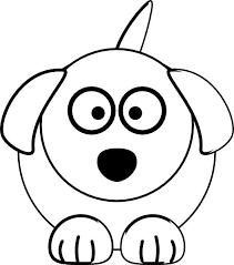 Pomeranian puppy coloring pages coloring for kids. Cute Dog Coloring Page For Kids Free Printable Picture