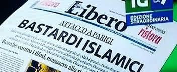 Risultati immagini per libero bastardi islamici