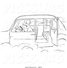 open door clipart black and white. Oled Car With An Open Door Black And White Coloring Page Outline Clipart