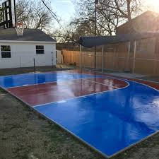 athletic court marking basketball court painting