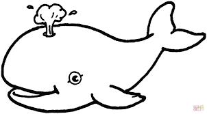 Disegno Di Bella Balena Da Colorare Disegni Da Colorare E Stampare