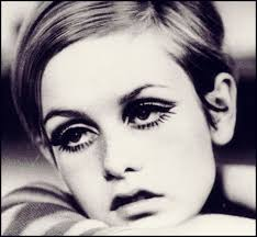 the above picture really shows what a throwback this kind of eye makeup was to that of 30 s film stars like greta garbo