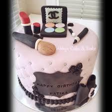 Chanels Makeup Cake For Fatima Abbys Cake Bake Facebook
