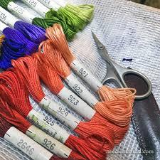Soie D Alger Colour Chart Silk Glorious Silk Needlenthread Com