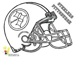 free printable nfl football coloring pages book also helmet met page at