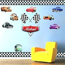disney cars wall decor car wall decal auto wall mural vinyl stickers