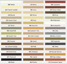 Mapei Color Chart Mapei Grout Color Chart Joint De Carrelage Carrelage Et