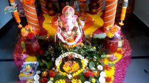 interior design top decoration themes for ganesh festival at