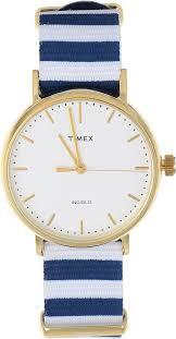 """<b>Часы</b> наручные мужские Timex """"Weekender"""", цвет: синий, белый ..."""