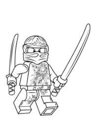 Lego Ninjago Kai Nrg Kleurplaat Gratis Kleurplaten Printen Lego