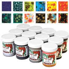 Mayco Jungle Gems Color Chart Mayco Jungle Gems Crystal Glaze Sets