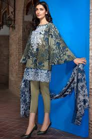 Pakistani Shalwar Kameez Design 2019 Khaadi Latest Summer Lawn Dresses Designs Collection 2019