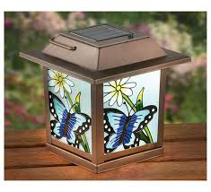 stained glass outdoor light include exhaustive 2 stained glass look solar lanterns solar outdoor lighting