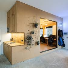 Interior Design Jobs Cork Selencky Parsons Adds Cork Lined Pod With Pegboard Walls To