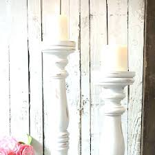 tall wooden candle holders white distressed candle holders large wooden candle holders tweet large black wooden
