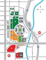 Denver Invesco Field Seating Chart Parking Transportation