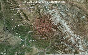 The kashmir earthquake killed nearly 75,000 people, injured more than 100,000 people, and destroyed 3 million homes. Magnitude 4 9 Earthquake Strikes Near Doda Jammu And Kashmir India Volcanodiscovery