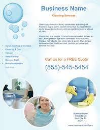 advertising a cleaning business cleaning services advertising templates cleaning company flyers