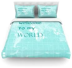 catherine holcombe welcome to my world e duvet cover cotton queen contemporary